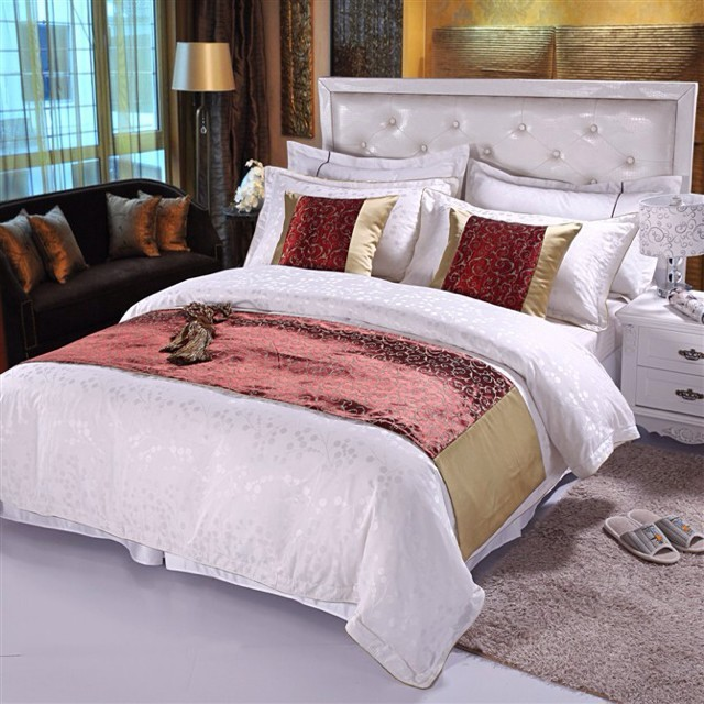 5 Star Elegant Luxury Wholesale 100%Cotton Hotel Bed Sheet Set/ Bed Linen