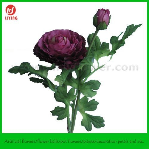 Natural Look Fake Flower, High Quality Artificial Flower of Ranunculus
