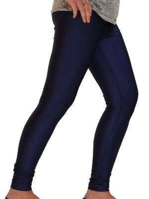b157bfce53e00 Get Quotations · YogaColors Shiny Nylon Tricot Legging Available in 7  Colors RNT38