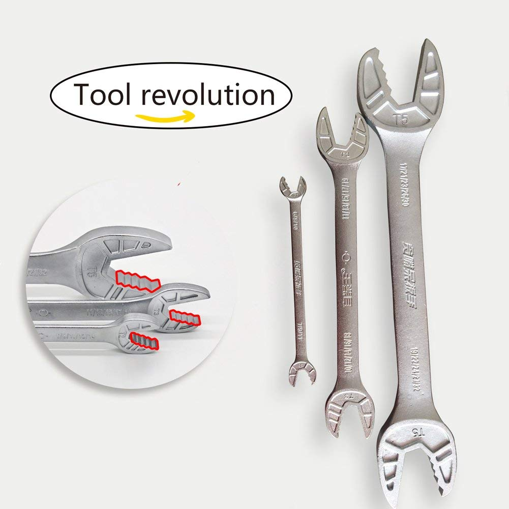 Get Quotations Wrench Set Multifunctional With Unique Design Universal 3 Pack Performance Tools