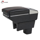 Hot sale PU leather car armrest console box for Suzuki swifts