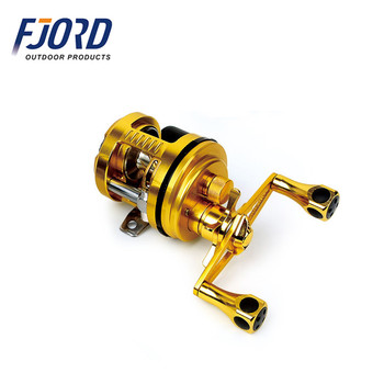 Fjord The Unique Taper Designing Two-speed Gear Ratio 4 8:1/7 1:1 One Way  Clutch Magnetic Brake System Baitcast Fishing Reel - Buy Two-speed Gear