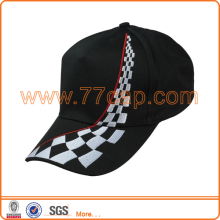 Embroidered 58cm Racing Baseball Cap With 5 Panel For Men