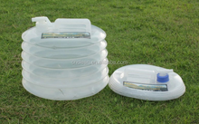 outdoor plastic camping big collapsiblewater bag