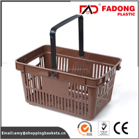 collapsing picnic basket set with single handle in reasonable price