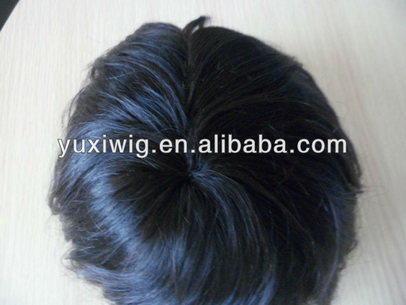 100% remy human hair cheap price toupee for men