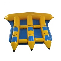 Floating Inflatable Banana Boat/ Inflatable Flyfish Tube/Inflatable Towable Flyfish For Water Park Games
