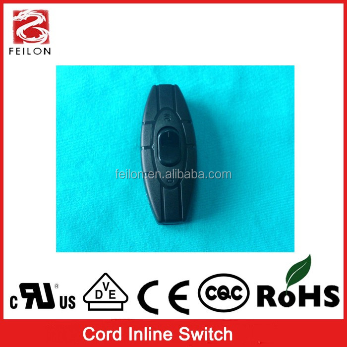 High quality eco_friendly 125v/3a Lamp switch