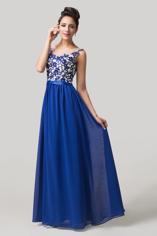 Elegant Royal Blue Dresses