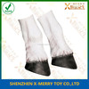 X-MERRY 2Pcs Latex Unicorn Horse Hooves Legs Gloves Cosplay Animal Party Costume Mask