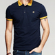 High Quality Custom Printed Fitness Man Polo Shirt Dry Fit Made In China Oem Service Wholesale