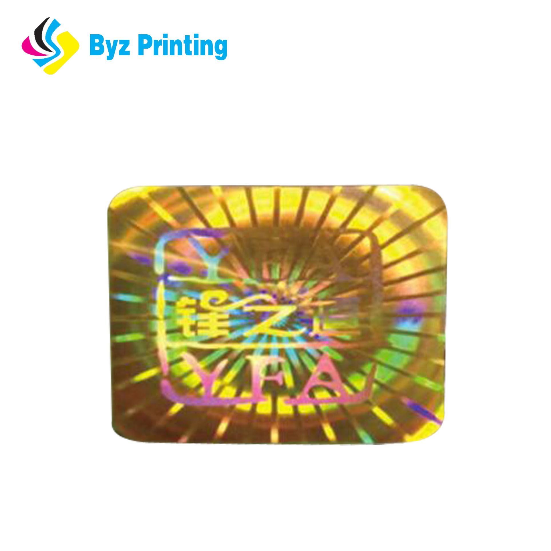 Cheap custom void 3d hologram stickers plastic seal strip security laser hologram label sticker