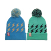 thick warm toque OEM promotional kids hat knitted acrylic beanie