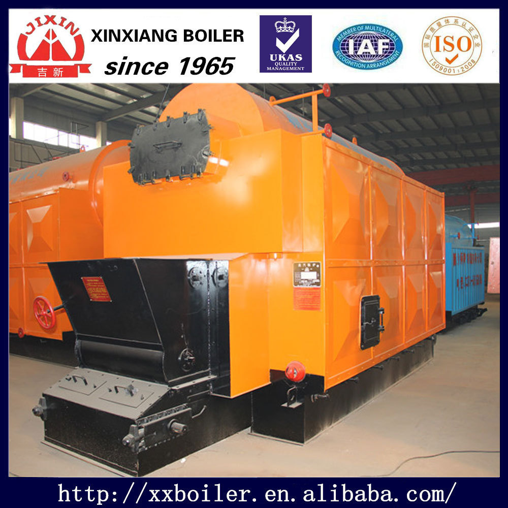 Coal fired DZL Steam Boiler Furnace with Chain grate stoker
