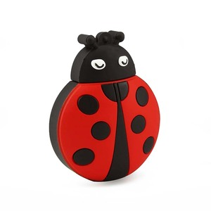 China Supply Soft Rubber Ladybug 128Gb 8Gb Sata Flash Drive 3D Cute Cartoon Anime Promotion Toy 512Gb Usb Memory Stick Pen Drive