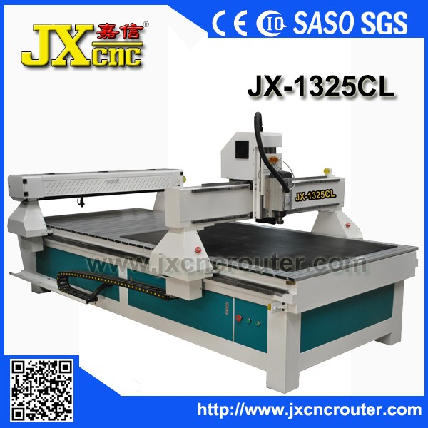 JIAXIN JX -1325CL Hot sale 1325 laser cnc router 18mm-20mm thickness of wood cnc laser cutting machine