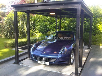 Hydraulic Four Post Car Parking Lift Garage Kits For Sale Buy
