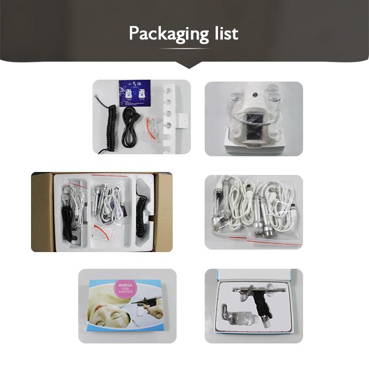 Spa Use Dermabrasion Diamond Peeling and Hydra Dermabrasion Peel Machine 8 IN 1