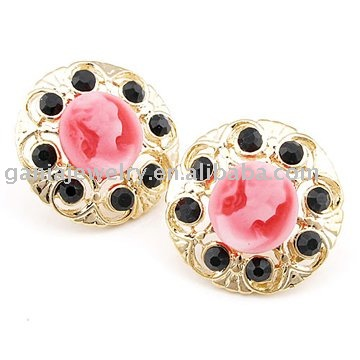 2014 Fashion Jewelry Cameo Earring