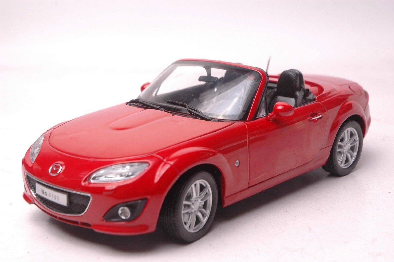 Get Quotations · Red 1/18 Mazda MX-5 MX5 Miata Roadster Coupe Alloy Model  Car Toy