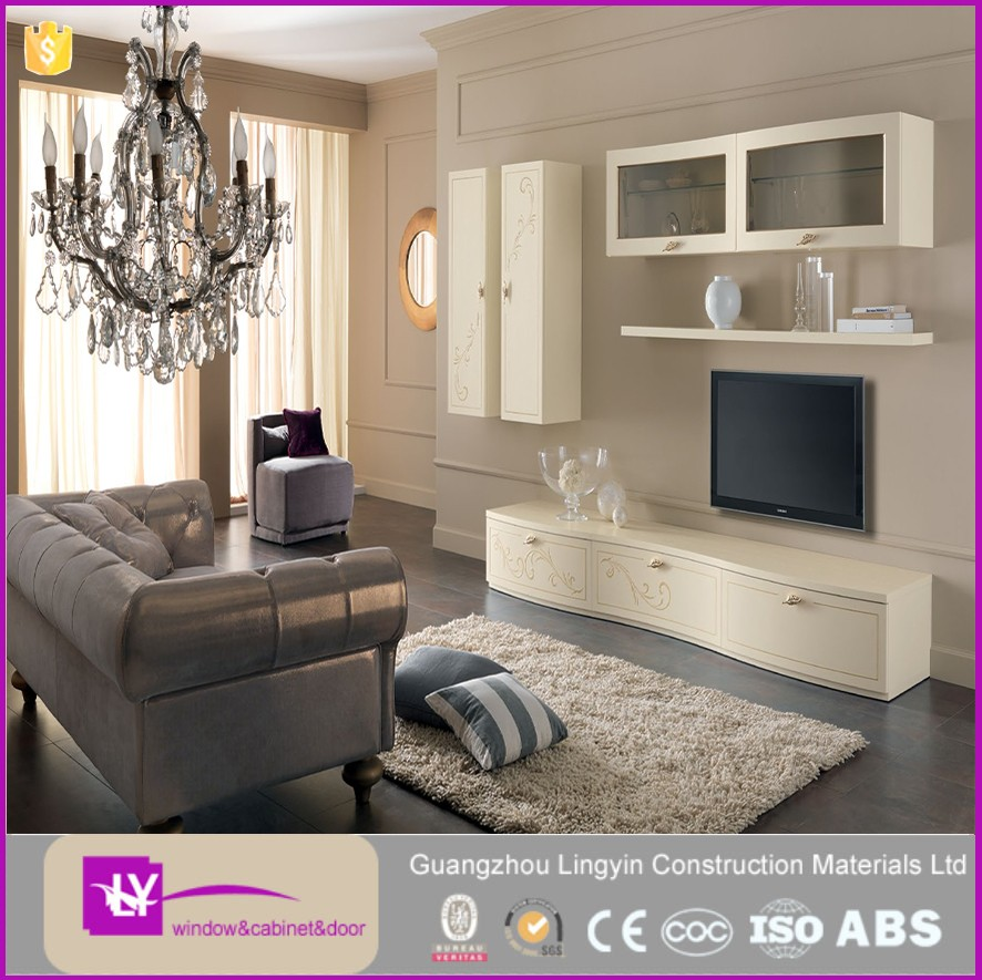 Plywood Tv Cabinet In Living Room Hot Sale Fashion Meuble Modern ...