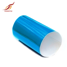 Durable promotional Blue glossy car wrap vinyl for car decoration
