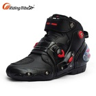 Top Stylish Red Shift Sportbike Street Rider Vented Summer Motorcycle Bike Touring Trainers Riding Shoes
