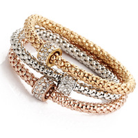 Fashion 18k gold plated bracelet Wholesale HS-0010