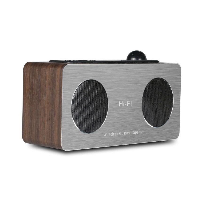 6W <strong>Portable</strong> V4.2 BT FM DAB Radio Wireless HIFI Speaker With LCD