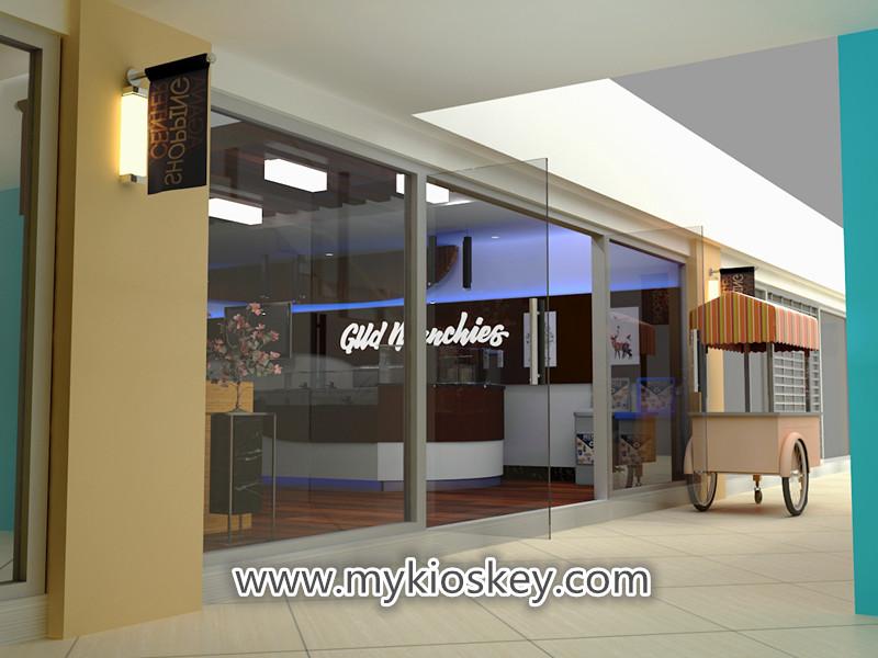 Custom High End Gelato Ice Cream Shop Interior Designice Cream Shop