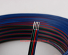 22AWG, 4pin RGB cable, PVC insulated wire, Electric cable, LED cable,2000ft