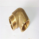 Female Forged 90 degree elbow reducing brass fitting pipe
