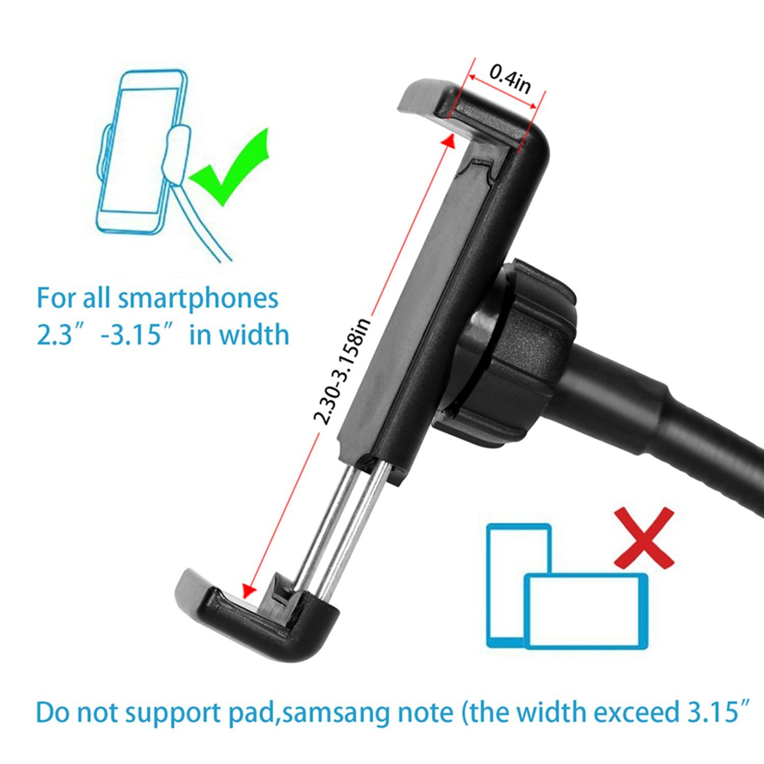 New innovative 2018 live streaming 9 modes selfie ring light with phone clamp