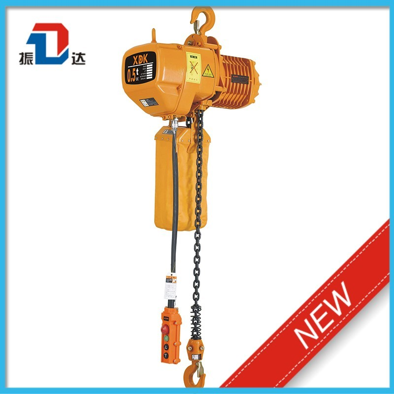 HOT Material Lifting Korea Kukdong Standard Electric Chain Hoist Kd-2 Type with Suspended Working Platform