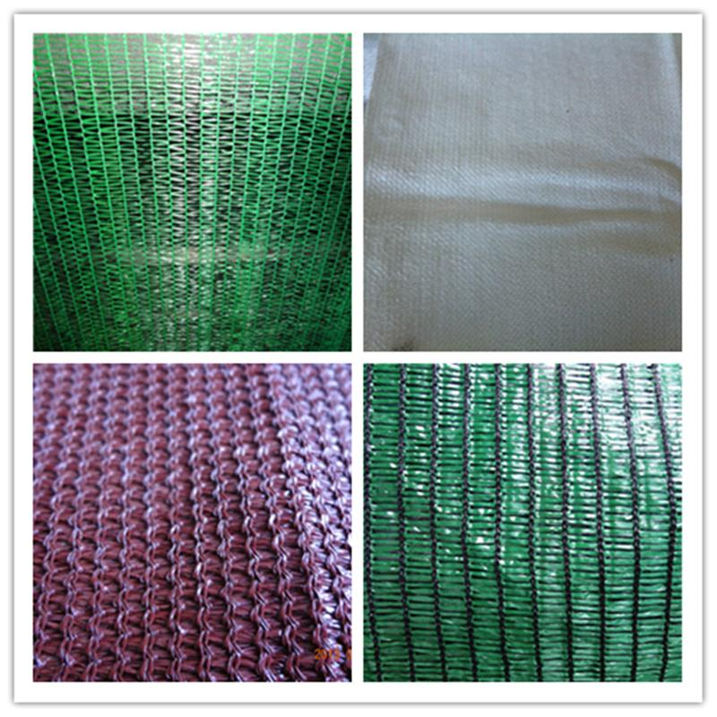 Plastic agriculture use usableness smooth surface sun shade net with uv protection
