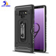 Newest design card slot tpu pc cellphone phone case for samsung galaxy note 9 black case