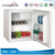 BC-35Y Portable Mini Compressor Refrigerator, Small Bar Glass Door Mini Fridge