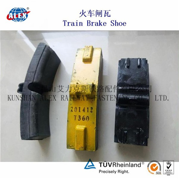 Brake Block Material : Brake shoe pad block cast iron composite