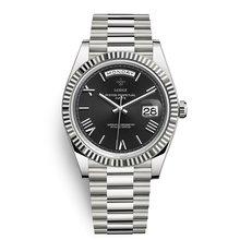 Мужские часы 18K золотые часы 40 мм сапфировое зеркало 228238 серия высококачественный календарь из нержавеющей стали мужские наручные часы(Китай)