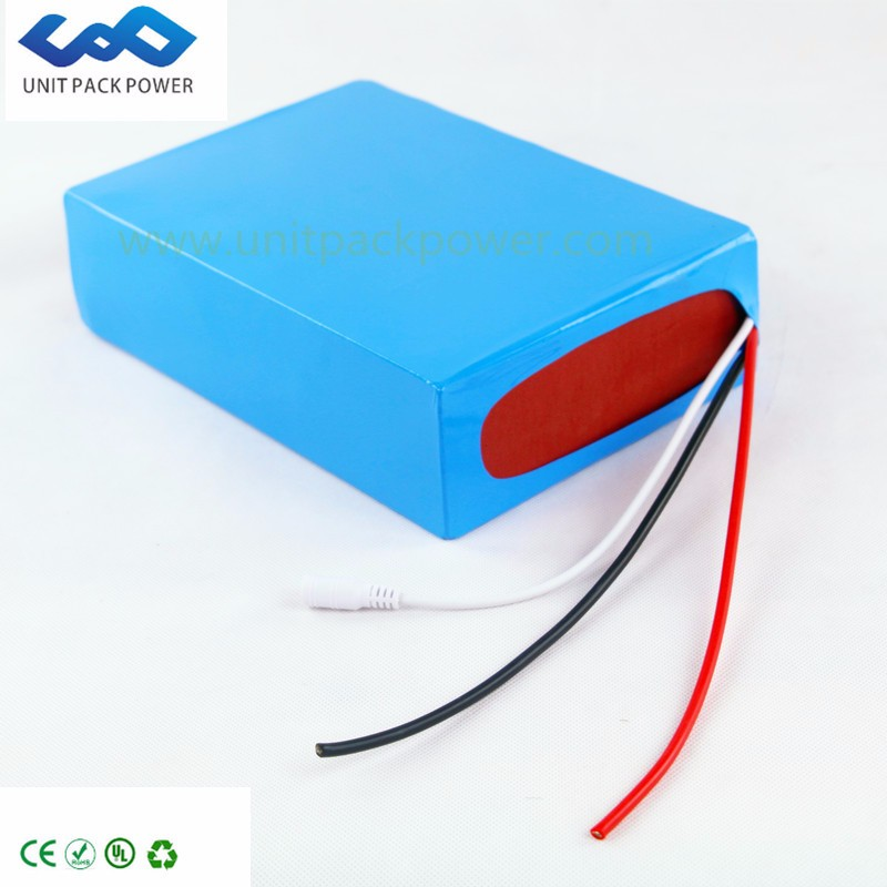 China Manufacture Rechareable Battery 18650Li-ion battery 60V 15AH With BMS+Charger