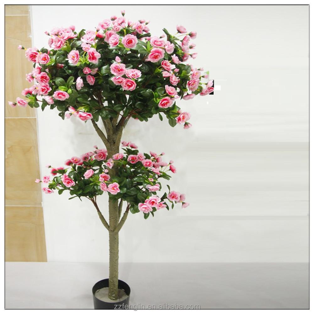 ad26c0a30 Árvore artificial barata com a árvore artificial decorativa da casa da flor  ...