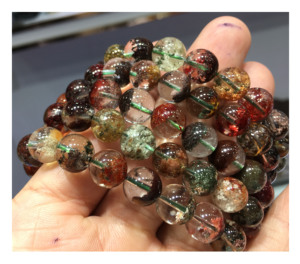 AAA- Excellent Quality Natural Multi Color Phantom Bracelet gemstone for Fashion Wear and jewelry making