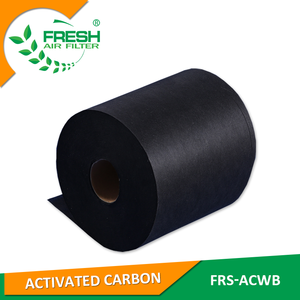 High quality formaldehyde filter non-woven fabrics activated carbon fabric