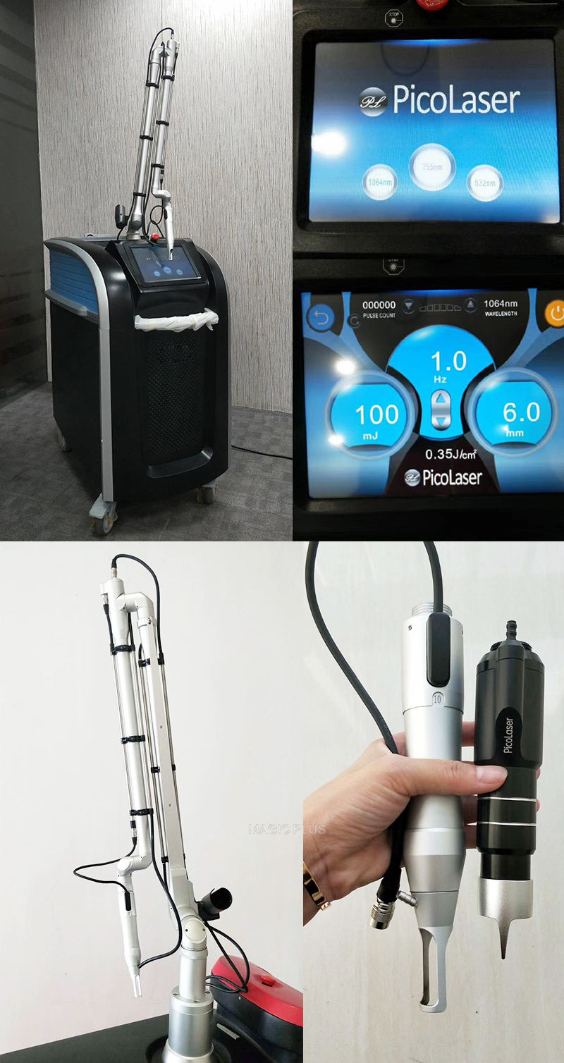Best Picosure Laser Tattoo Removal Machine For Skin Rejuvenation and Pigment Removal