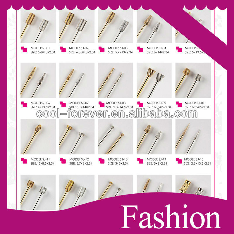 High Quality Different Function Diamond Nail Bits Set - Buy Diamond ...