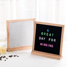 2017 new model magnetic letter board 10x10 double sided felt board