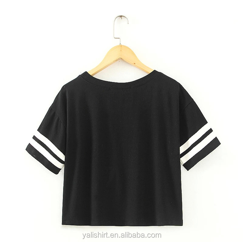 Wholesale Baseball Jersey Plain Cotton Long Sleeves Crop Model ...
