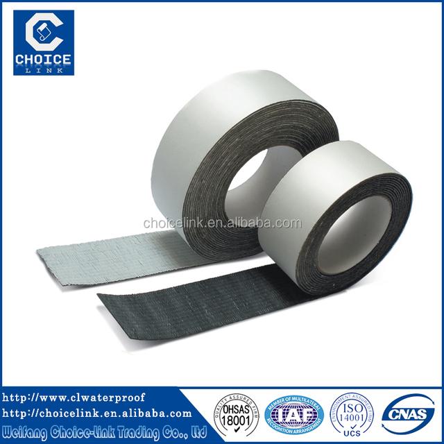 Good Waterproof Material Self Adhesive Bitumen Roofing Felt Sealant Tape