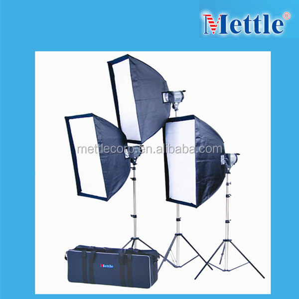 camera photo studio flash lighting kit -QL-1000 light kit