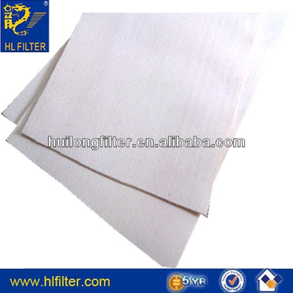 Guangzhou teflon filter cloth/dust collector cloth/ PPS dust filter cloth/Water&oil repellent polyester needle punched felt dust